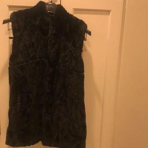 Faux fur vest , Wonens Size S